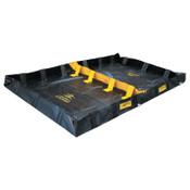 Justrite Decon Quickberm, Black, 299 gal, 10 ft x 6 ft, 1/EA, #28570