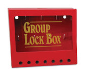 Brady METAL WALL LOCK BOX, SMALL, 1/EA, #105714