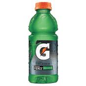 Gatorade Wide Mouth Bottles, 20 Oz, Fierce Green Apple, 24/CA, #1053