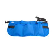 Alta 14-Pocket Waist Aprons, 24 in x 10 in, Nylon, Blue, 1/EA, #66160BL