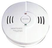 Kidde Combination Carbon Monoxide/Smoke Alarms, Ionization; Fuel Cell, 1/EA, #900010202
