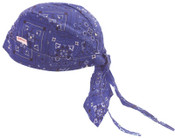 Comeaux Caps Doo Rags, One Size Fits All, Royal Blue, 1/EA, #7000ROY