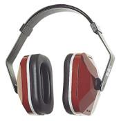 3M E-A-R Muffs, 20 dB NRR, Maroon, Wear Over Head, Behind Neck, Under Chin, 1/EA, #7000002314