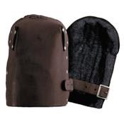 CLC Custom Leather Craft Leather Kneepads, Buckle, Tan, 1/PR, #309