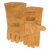 Best Welds Premium Leather Welding Gloves, Leather, XX-Large, Buck Tan, 1/PR, #102000XXL