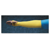 Ansell Kevlar Sleeves, 18 in Long, One Size, Yellow, 1/EA, #103790
