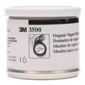 3M Organic Vapor Monitor w/Charcoal Pad, 3500, 11 g, 10/CS, #7000001878