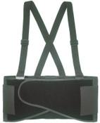 CLC Custom Leather Craft Elastic Back Support Belts, Large, Black, 1/EA, #5000L
