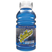 Sqwincher Ready-To-Drink, 12 oz, Bottle, Mixed Berry, 24/CA, #159030900
