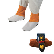 Best Welds Spats, Leather, Brown, One Size Fits Most, 1/PR, #Q15