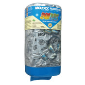 Moldex Plugstation Dispenser with SparkPlugs Corded Metal Detectable Earplugs, Foam, 1/EA, #6881