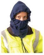 OccuNomix 3-In-1 Plush Fleece Winter Liners, Polyester Fleece, Hi-Viz Orange, 1/EA, #1070HVO