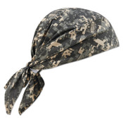 Ergodyne Chill-Its 6710CT Evaporative Cooling Triangle Hats w/ Cooling Towel, Camo, 6/CA, #12582
