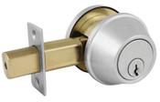 Master Lock COMM SGL CYL DEADBOLT SATIN CHROME KA4 SCHLAGE C, 1/EA, #DSC0632DKA4