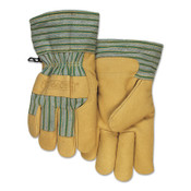 Anchor Products Cold Weather Gloves, X-Large, Pigskin, Gold, 6/BOX, #CW777XL