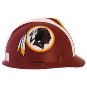 MSA Officially-Licensed NFL V-Gard Helmets, 1-Touch, Washington Redskins Logo, 1/EA, #818414