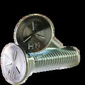 """3/4""""-10x2-1/2"""" Grade 5 Plow Bolts No.3 Head, Full Thread, Zinc (20/Pkg.)"""