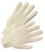 Anchor Products String-Knit Gloves, Large, Knit-Wrist, Heavy Weight, Natural White, 12 Pair, #35C104L