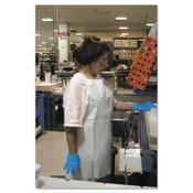 Ansell CPP Vinyl Aprons, 18 mil, 35 in X 45 in, White, 12/DZ, #105202