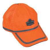 Ergodyne GloWear 8930 Hi-Vis Baseball Cap, Hi-Vis Orange, 6/CA, #23238