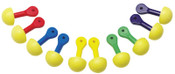 3M E-A-R Express Pod Plugs Earplug 321-2200, Polyurethane, Yellow, Uncorded, 100/BX, #7000002308