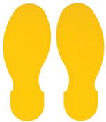Brady ToughStripe Floor Marking Tape, 3 1/2 in x 10 in, Yellow, 1/PK, #104409