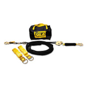 Capital Safety Sayfline Synthetic Horizontal Lifeline Systems, 100ft, Tie-Off Adaptors/Bag, 1/EA, #7600510