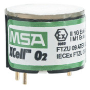 MSA XCell O2 Sensor Replacement Kit, with Alarms, 1/EA, #10106729