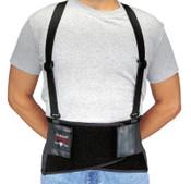 Allegro Bodybelts, Medium, Black, 1/EA, #716002