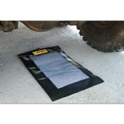 Justrite Drip Pads, Black, 1.75 gal, 36 in x 24 in, 1/EA, #28459
