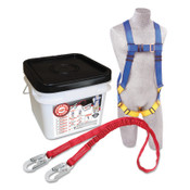 Capital Safety Compliance in a Can Light Roofer's Fall Protection Kits, Hook, 1/EA, #2199809