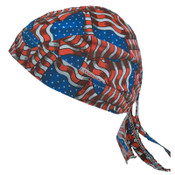 Comeaux Caps Sytle 7000 Welder Doo Rags, One Size Fits All, Stars & Stripes, 1/EA, #7000SS