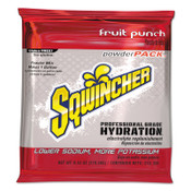 Sqwincher Powder Packs, Fruit Punch, 9.53 oz, Pack, Yields 1 gal, 80/CA, #159016005