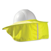 OccuNomix Hard Hat Shades, Cotton/Polyester with Wire Spring, Yellow, 1/EA, #899HVYS