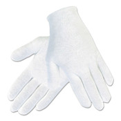 MCR Safety Cotton Inspector Gloves, Polyester/Cotton, Men's, 12 Pair, #8600