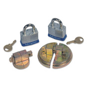"Justrite DRUM LOCKS F/ 55 GAL STEEL DRUM W/LOCKS 2"" NPT, 1/EA, #8510"