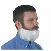 Kimberly-Clark Professional KleenGuard A10 Light Duty Beard Covers, Universal, White, 10/CA, #66815