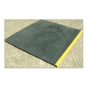 "Rust-Oleum Industrial SafeStep Anti-Slip Step Covers, 47 1/2"" x 47 1/4"", Black/Yellow, Landing Cover, 1/EA, #271816"