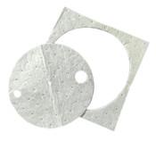 3M High-Capacity Petroleum Sorbent Drum Covers, Absorbs .76 gal, 25/CS, #7010382257