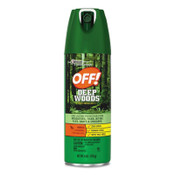 Diversey Deep Woods Dry Insect Repellent, 4oz, Aerosol, Neutral, 12/CT, #SJN616304