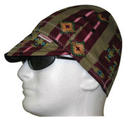 Comeaux Caps Deep Round Crown Caps Reversible, One Size Fits All, Assorted Prints, 1/EA, #2000E