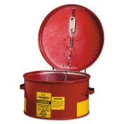 Justrite Dip Tanks, Hazardous Liquid Cleaning Tank, 1 gal, Red, 1/EA, #27601