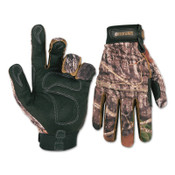 CLC Custom Leather Craft Backcountry Gloves, Mossy Oak, X-Large, 2/PK, #M125X