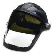 Jackson Safety QUAD 500 FACESHIELD CH GRD CL MLD PC AF 370 HDGR, 1/EA, #14220