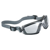 Bolle Cobra TPR Sealed Safety Goggles, Clear Poly, Neoprene Strap, Smoke/Gray Frame, 10/BX, #40246