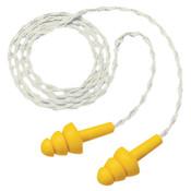 3M E-A-R UltraFit Earplugs 340-4036, Elastomeric Polymer, Cloth Cord, 100/BX, #7000029960