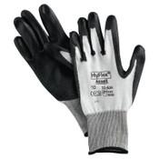 Ansell HyFlex 11-624 Dyneema/Lycra Work Gloves, Size 11, White/Black, 12 Pair, #104782