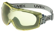 Honeywell Stealth OTG Goggles, Amber/Navy, Uvextreme Coating, Neoprene Strap, 1/EA, #S3972D