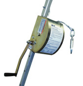 Honeywell ManHandler™ Hoist, 100 ft, Mounting Bracket, Pulley, Carabiner, 1/EA, #8442SSZ7100FT