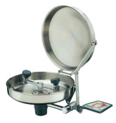 Guardian Wall Mounted Eye Washes, 11 1/2 in, Stainless Steel with Cover, 1/EA, #G1814BC